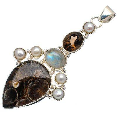 edelsteen sieraden zilveren hanger caren simon be-you-tiful