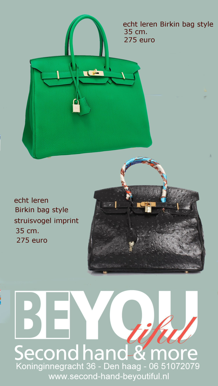 Birkin bag second hand beyoutiful den haag