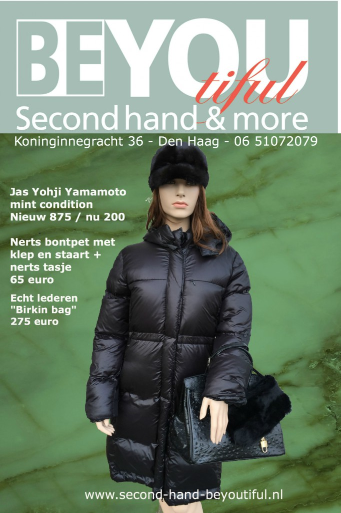 Second hand designers kleding Beyoutiful second hand & More Den Haag